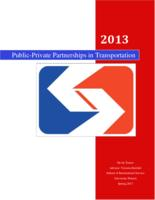 Public-Private Partnerships in Transportation