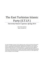 The East Turkistan Islamic Party (E.T.I.P.)