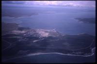 Aerial view of Strait of Magellan