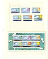 Anguilla stamp pages, 1979-1980
