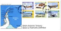 British Antarctic Territory bases and postmarks definitive