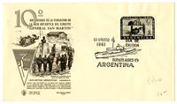 10th Anniversary of the establishment of the General San Martin Base in Argentine Antarctic Territory