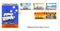 World Stamp Expo Australia 1999 depicting Maritime Heritage