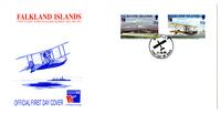 PHILEXFRANCE '99 Stamp Exhibition, the First Flight over the Falkland Islands