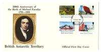 200th Anniversary of the birth of Michael Faraday, 1791-1991