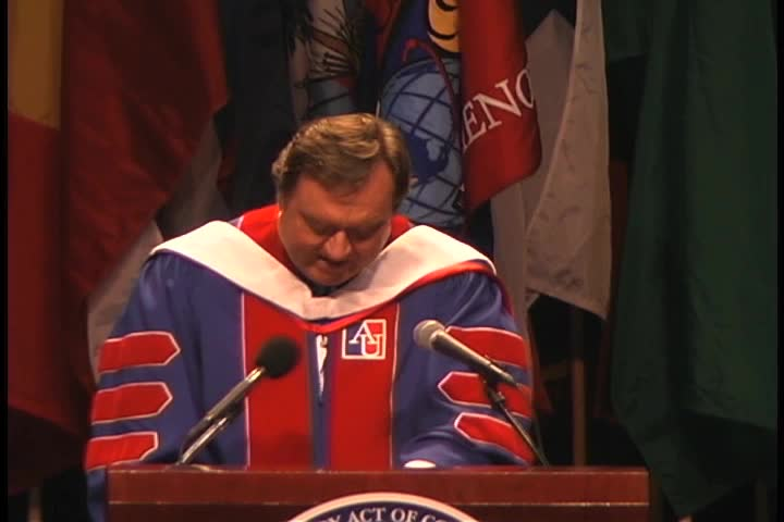Tim Russert Commencement Address, 119th Commencement, College of Arts and Sciences, Spring 2005