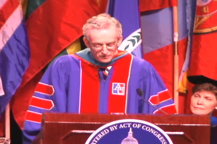 Peter D. Bell Commencement Address, 115th Commencement, School of International Service and School of Communication, Spring 2002