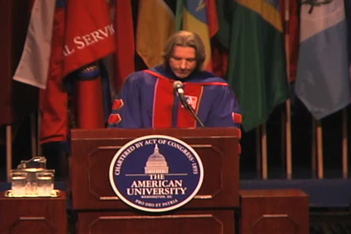 John Prendergast Commencement Address, 123rd Commencement, School of International Service, Spring 2009