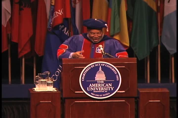 Lonnie G. Bunch Commencement Address, 123rd Commencement, College of Arts and Sciences, Spring 2009