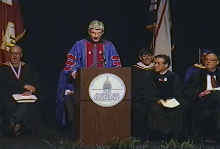 Allan D. Gilmour Commencement Address, 95th Commencement, Kogod School of Business, Spring 1992