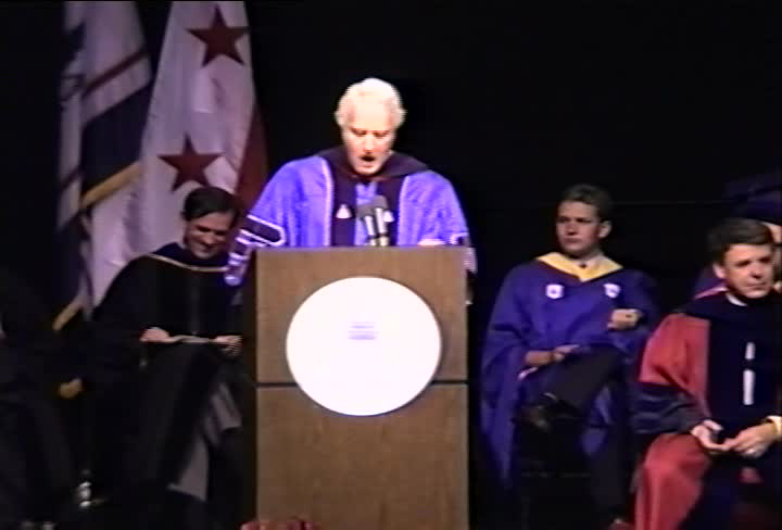 Louis Rukeyser Commencement Address, 93rd Commencement, Kogod School of Business, Spring 1991