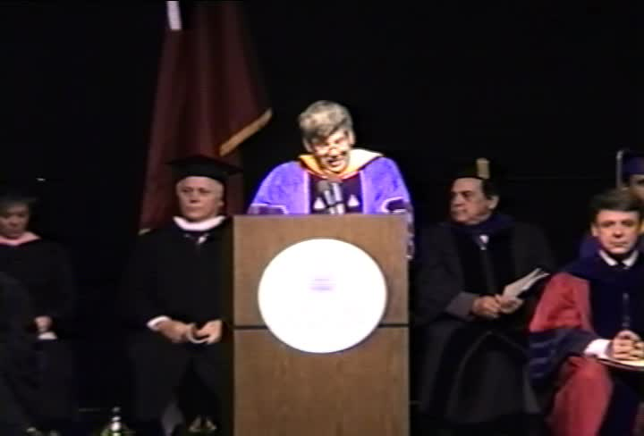 Stephen J. Gould Commencement Address, 93rd Commencement, College of Arts and Sciences, Spring 1991