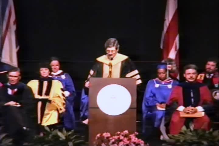 Kent Baker Commencement Address, 91st Commencement, Kogod School of Business and School of Public Affairs, Spring 1990
