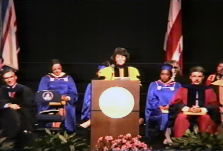 Susan Hammond Commencement Address, 91st Commencement, Kogod School of Business and School of Public Affairs, Spring 1990