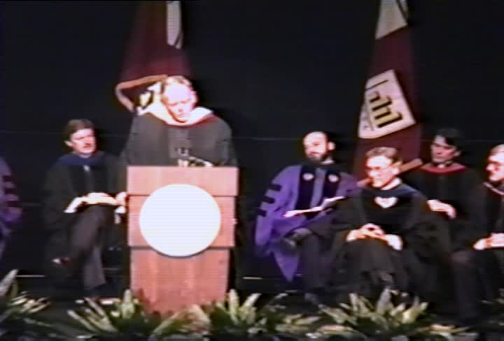 Timothy S. Healy, S.J. Commencement Address, 90th Commencement, American University, Winter 1990