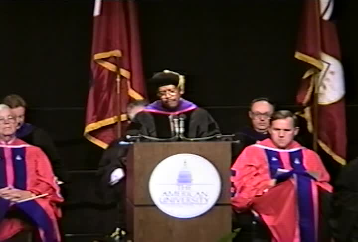 John Edward Jacob Commencement Address, 96th Commencement, American University, Winter 1993