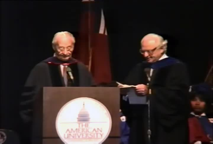 Alexander Dubcek Commencement Address, 91st Commencement, College of Arts and Sciences and School of International Service, Spring 1990
