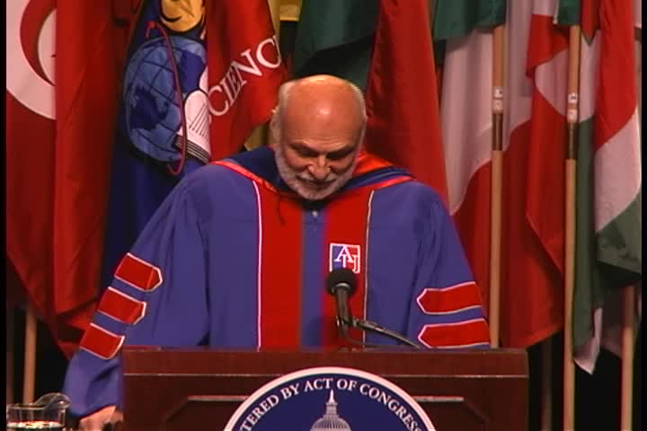 Michael Kahn Commencement Address, 120th Commencement, College of Arts and Sciences, Spring 2006