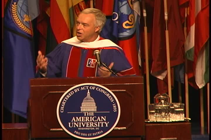 Kenneth A. Paulson Commencement Address, 122nd Commencement, School of International Service and School of Communication, Spring 2008