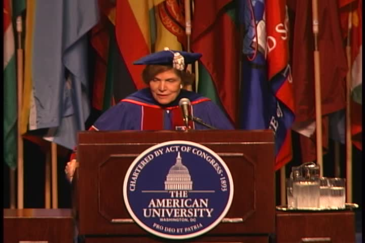 Sylvia Earle Commencement Address, 122nd Commencement, College of Arts and Sciences, Spring 2008