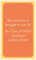 1932 endowed library fund bookplate