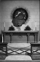 Altar in the War Memorial Chapel, Washington National Cathedral (1977)