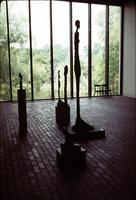 Alternate view of sculptures in Louisiana Museum of Modern Art in Humlebæk, Denmark