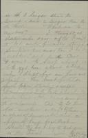 Letter from General R.D. Mussey to [the Mussey] family, May 7, 1892